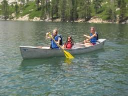 Lake Tahoe Canoe